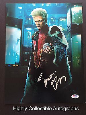 Benicio Del Toro Signed 11X14 Photo Autograph Psa Coa Guardians Of The Galaxy