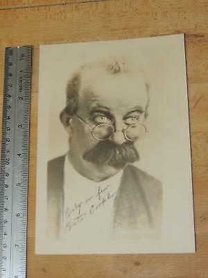Vintage Movie Actor Chester Conklin Signed Photo