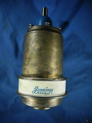 Vacuum Capacitor Variable Jennings 7500v
