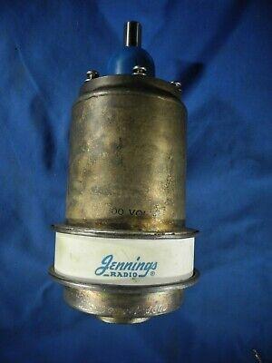 Vacuum Capacitor Variable Jennings 7500v