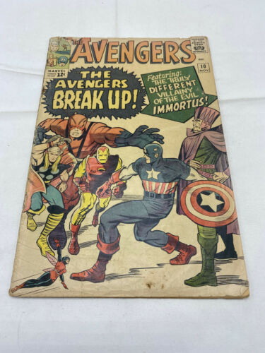 Silver Age  Avengers #10