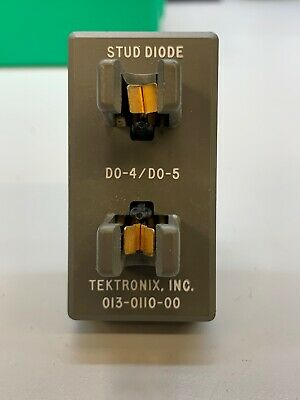 Tektronix 013-0110-00 Stud Diode Test Fixture For 576577 Curve Tracer