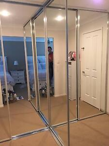 SLIDING MIRROR WARDROBE DOORS (Made to measure) Shailer Park Logan Area Preview