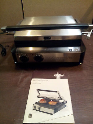 WOLFGANG PUCK TRI-GRILL PANINI MAKER MODEL# WPCGL050, used for sale  Pioneer