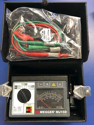 Megger Mj159 Hand Crank Voltage Reader