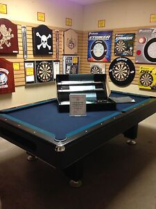 8' Contemporary Pool Table