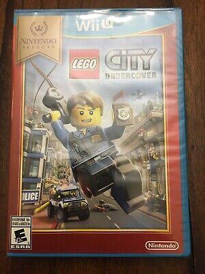 LEGO City: Undercover (Nintendo Wii U) Brand New