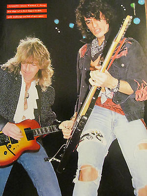 Aerosmith, Geddy Lee, Rush, Full Page Vintage Pinup