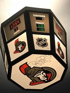 Ottawa Senators Autographed Scoreboard ceiling lighting