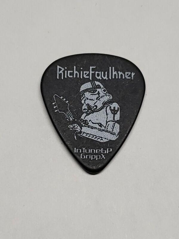 Judas Priest Richie Faulkner storm trooper Star wars Guitar Pick stage  issued