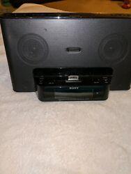 Sony iPhone/iPod Clock Radio Speaker Dock ICF-CS15iP Dream Machine