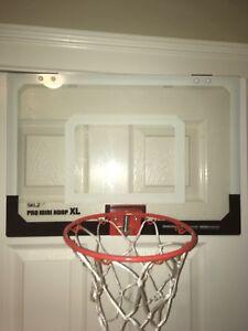 Door hanging mini basketball net