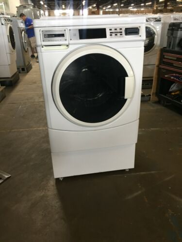 MAH22PR Maytag Card Operated Front Load Washer, Used