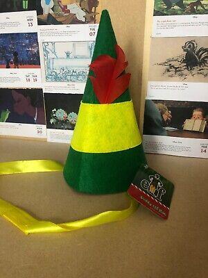 Buddy Elf Hat (Buddy The Elf Hat NEW BNWT Rare Costume Funny Novelty Christmas)