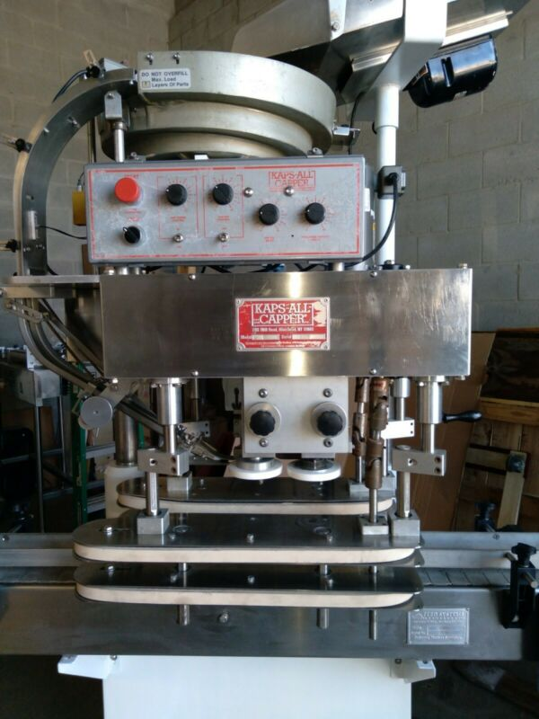 Kaps-All automatic capper very good condition