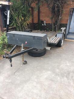 4 bike trailer