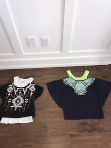 3 Justice tops size 12 kids