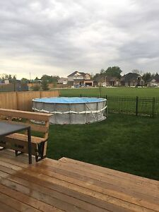"""Brand new pool liner for 18ft by 52"""" Intex pool"""