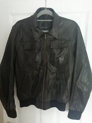 Men's Large Real Leather Jacket