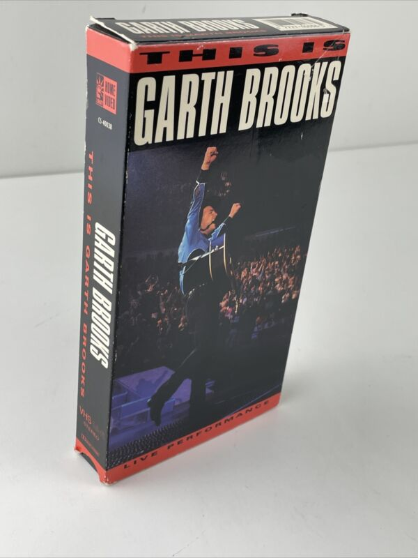 This Is Garth Brooks Live Performance VHS 1992