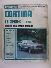 FORD CORTINA TE SERIES 1977 - 1980 WORKSHOP MANUAL Alberton Port Adelaide Area Preview