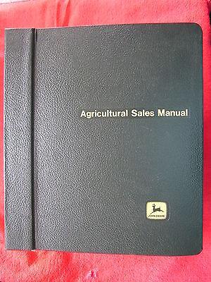 2001 John Deere Dealer Foragetillageplantingloadersagricultural Sales Manual