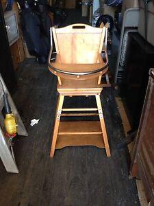 Vintage 2 in 1 Highchair & Desk