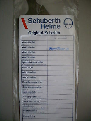 Super Visor III Getönt Schuberth Helme