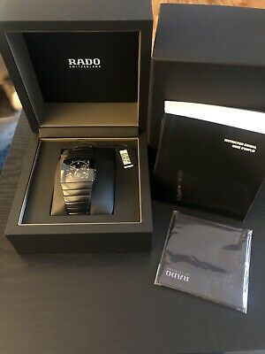 RADO Sintra Chronograph Black Ceramic Men's Watch R13764152