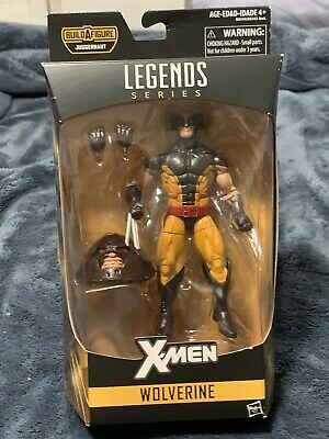 "WOLVERINE ( 6"" ) HTF MARVEL LEGENDS ( JUGGERNAUT SERIES ) X-MEN ACTION FIGURE #1"