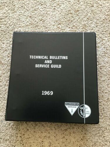 1963-1966  Oldsmobile Service Guild training manual.