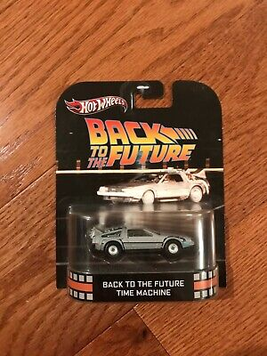 Hot Wheels Back To The Fure Time Machine Retro Entertainment (511)