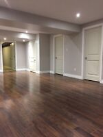 CONTRACTOR AVAILABLE BASEMENT FINISHING
