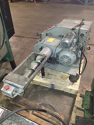 Auger Feed Granulator By Hosokawa Model 88 Ae In Operating Condition Four Total
