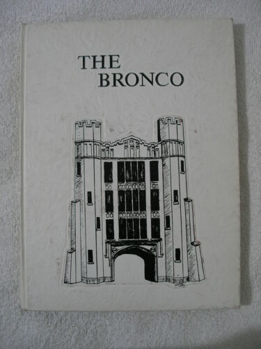 New Mexico Military Institute 1973 Annual Yearbook Bronco NMMI ROSWELL History
