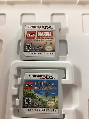 Lego Marvel Super Heroes Universe in Peril & Lego China Lavals (Nintendo 3DS)