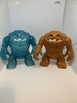 Imaginext DC Super Friends Exclusive Mr. Freeze's Ice Blue Clayface Monster & 1