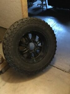 F250 rims and tires