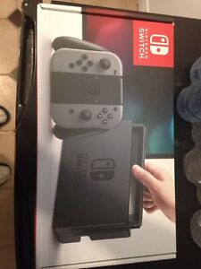 Brand New never used Nintendo switch -grey (NEON SOLD)