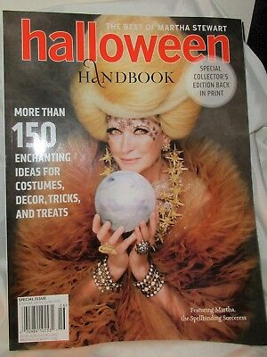 Martha Stewart  HALLOWEEN HANDBOOK 2012 Costumes Decorations Recipes Fun Treats - Halloween Treats Martha Stewart