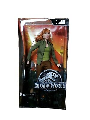 Jurassic World Toys Barbie Claire Doll Barbie Signature New Sealed