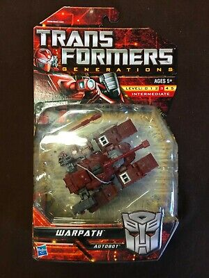 TRANSFORMERS GENERATIONS CLASSICS CHUG WARPATH G1 COLORS AUTOBOT TANK TF MOSC