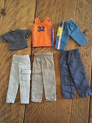 Vintage Male Doll Clothes Bundle Ken (Barbie) Mark Paul (Sindy) 80s 90s