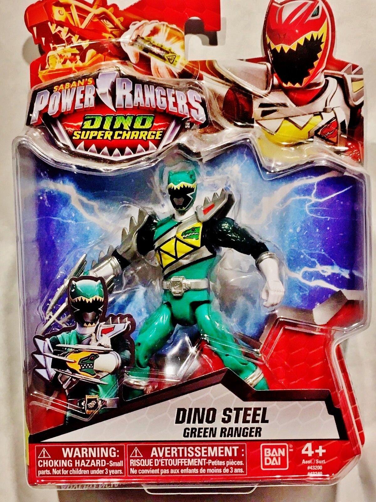 Power Rangers Dino Super Charge - Dino Steel Green Ranger