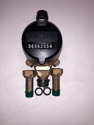 Neptune 58x12 T-10 Direct Read Water Meter Nsf61 With Couplings