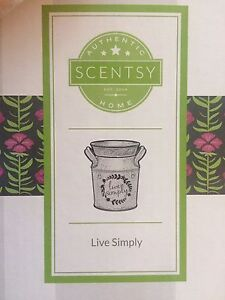 Used scentsy warmer- live simply
