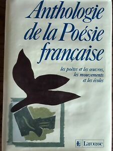 Anthologie de la Poésie française by Larousse 1988 Like new