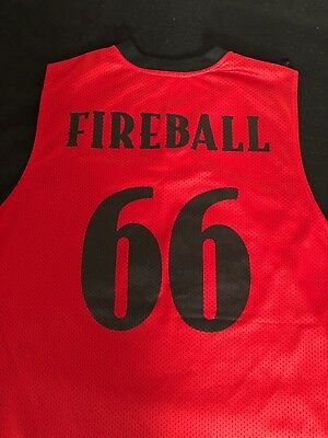 Fireball Whiskey reversible basketball style jersey mens size extra large XL