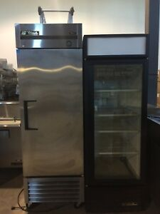 True refrigeration sale, prep tables, coolers and freezers