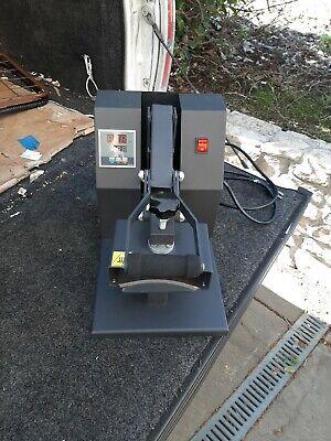 Industrial Heat Press  Hat Press Works Good
